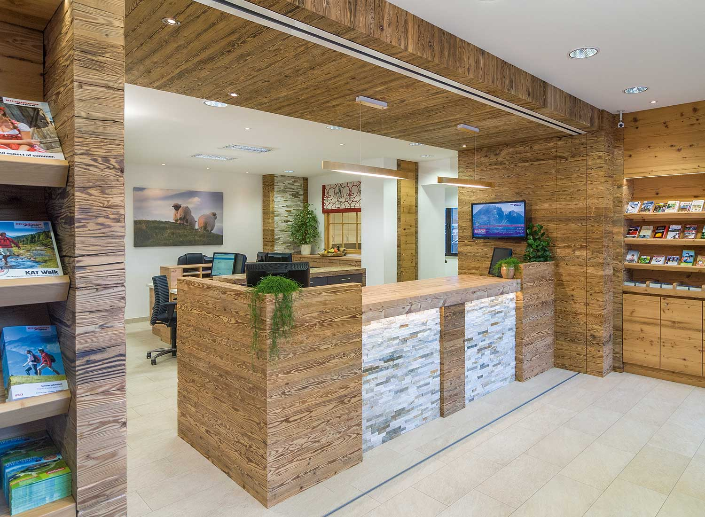 Architekturfotografie Innenaufnahme TVB-Büro